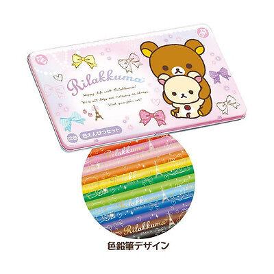 San-X Rilakkuma Color Pencils Set 12 Color Drawring Pencil Set PN94801