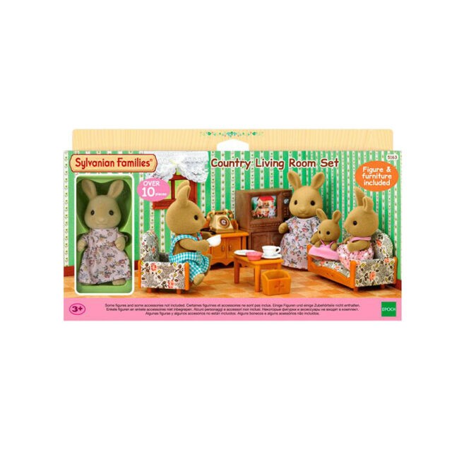 EPOCH Sylvanian Families Country Living Room Set 5163