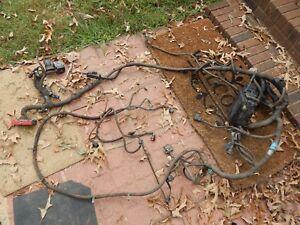 97 f150 4.2 4.2l v6 under hood fusebox headlight wiring harness wire auto  4x4   ebay  ebay