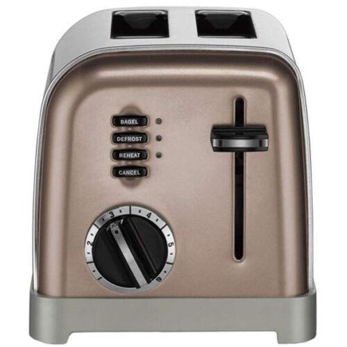 Cuisinart 2 Slice Metal Classic Toaster Umber CPT-160UMB