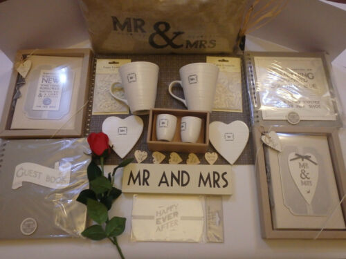 Wedding mr and mrs cushion or mugs guest book mulit listing coasters egg cups
