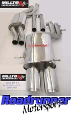 MILLTEK AUDI RS4 B5 EXHAUST CAT BACK RESONATED SYSTEM FITS TO OEM CATS SSXAU002