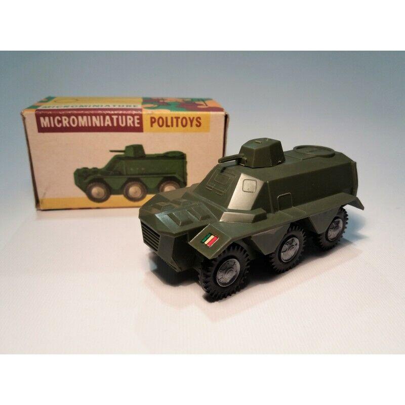Politoys APS N.5 Carblinda for transport Military (Original Box 1960) 1 41