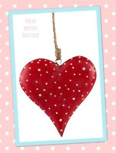 Shabby-Chic-Fairy-Tale-Love-Heart-Hanging-Decoration-Sass-amp-Belle