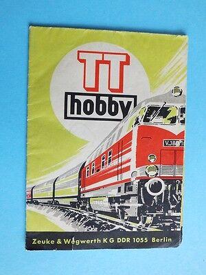 1969 Tt Hobby Zeuke & Wegwerth Kg Prospekt Aromatischer Geschmack