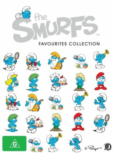 1 of 1 - Smurfs - Favourites Collection (DVD, 2010, 6-Disc Set)