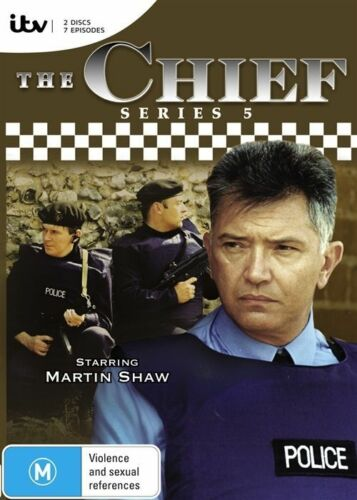 1 of 1 - The Chief : Series 5 (DVD, 2014, 2-Disc Set) (D65)(D160)(D180)