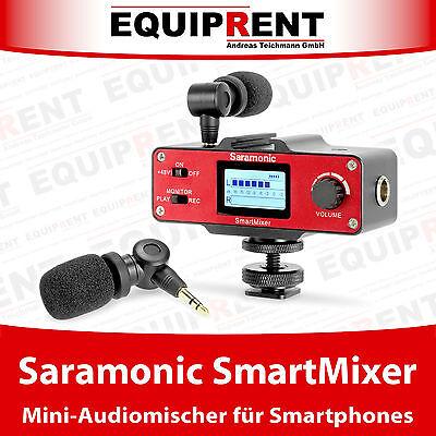 Saramonic SmartMixer Audiomixer / Audiomischer für Smartphone und DSLR (EQB63)