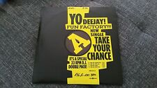 "Fun Factory - 2x 12"" VINYL - TAKE YOUR CHANCE Remixes Drum Tribe Original Mix"