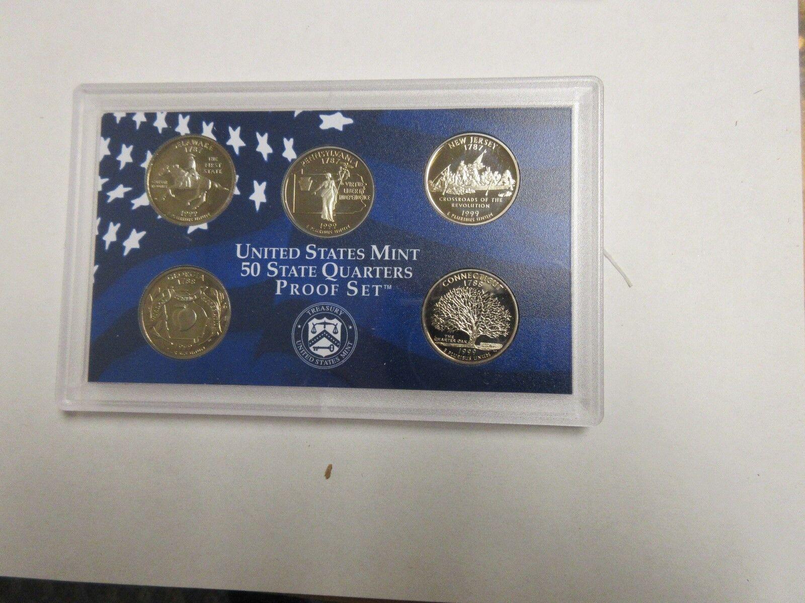 1999 U.S. Mint Proof Set , Lot of 3 , New In Original M