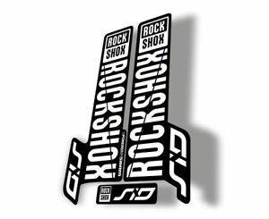 Rock Shox SID Brain 2018 Mountain Bike Cycling Decal Sticker Adhesive Red White