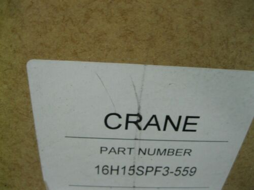 """2364 Details about  /16/"""" 150# Crane Duo-Chek II H15SPF3-559 Check Valve WCB x WCB NEW Z99"""