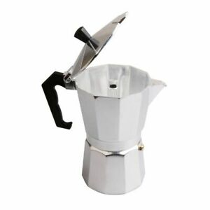 Stove-top Moka Pot Aluminium Italian Coffee Brewing Expresso Mocaccino Maker