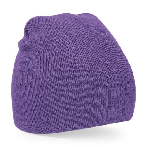 chaud automne glace Unisexe Violet Toucher Doux Bonnet-Hiver neige pluie vent