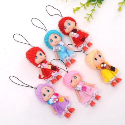 Süße Kleine Puppen Anhänger Handy Auto Handtasche Schlüsselanhänger Geschenk