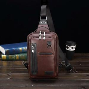 Famous-Brand-Men-Chest-Bag-Leather-Single-Shoulder-Bag-Brown-Men-Travel-Crossbod