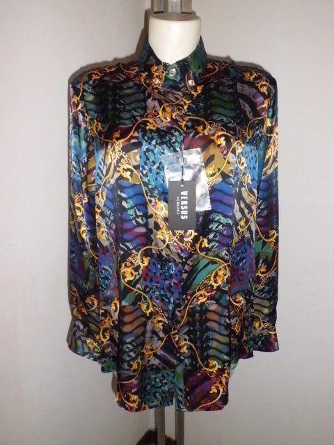 Versace  Versus  Baroque  Shirt  Silk  Dimensione  310,00