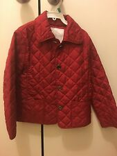 Burberry London Kids Girls Quilted Jacket Size 5