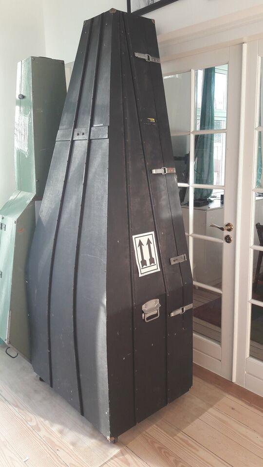 Upright Bass Shipping Box, custom build 3/4-4/4 bass