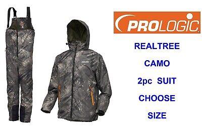 Prologic RealTree Fishing Jacket NEW Camo Waterproof Coat *All Sizes*