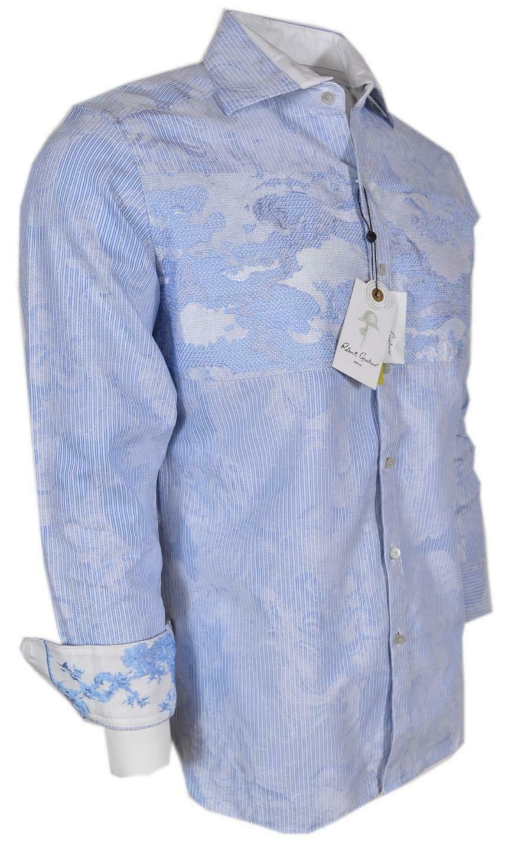 NEW Robert Graham $398 SIDDARTHA Linen Classic Fit Limited Edition Sports Shirt