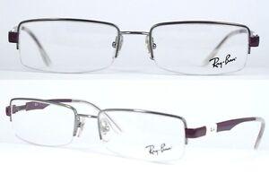 Ray-Ban-Brillenfassung-RB6156-2628-52mm-Halbrand-409