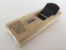 Kakuri Carpentry Plane Kanna Wood Block Double Edge Blade 42mm Base 150mm Japan