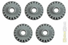 5x LEGO® 20Z Technic Zahnrad neu-hellgrau 87407 light bluish gray gear