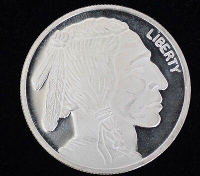 Liberty Indian Head Buffalo 2010 Silver 1 troy oz .999 Fine Silver Round