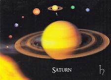 3 -D - Lentikularkarte: Saturn im Planetensystem