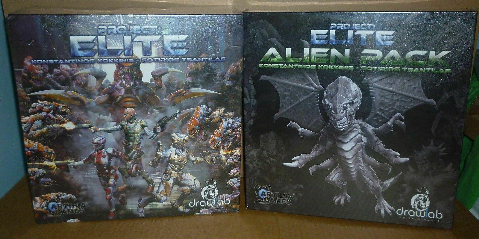 Proyecto Elite + Alien Pack KS Edición Limitada
