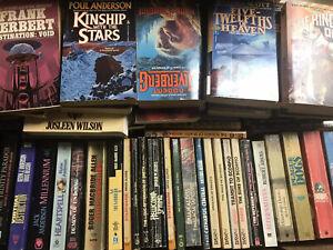Lot-Of-15-Random-Sci-fi-Paperback-Books