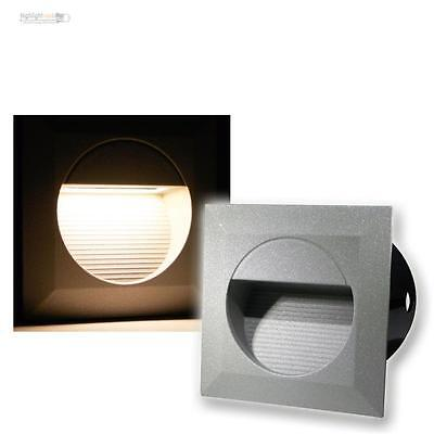 LED Wall-Mounted Luminaire Recessed Spotlights Stair Step Light IP65 230V