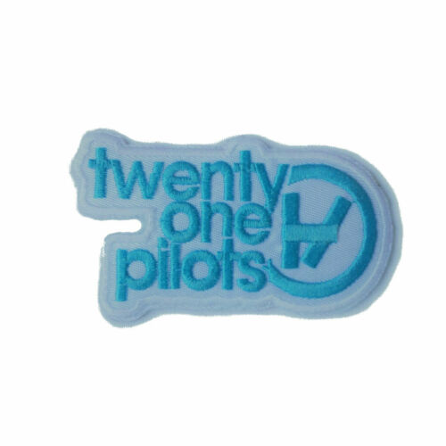 Twenty One Pilots Rock and Roll Music Band Embroidered Sew//Iron On Patch