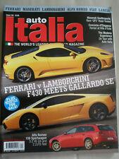 Auto Italia 122 Ferrari F430 vs Lamborghini Gallado SE, Quattroporte QP2