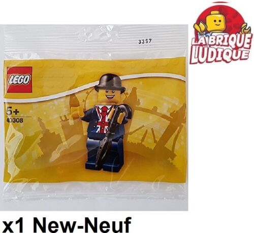 Lego Polybag Exclusive Leicester Square Londres figurine anglais 40308 NEUF