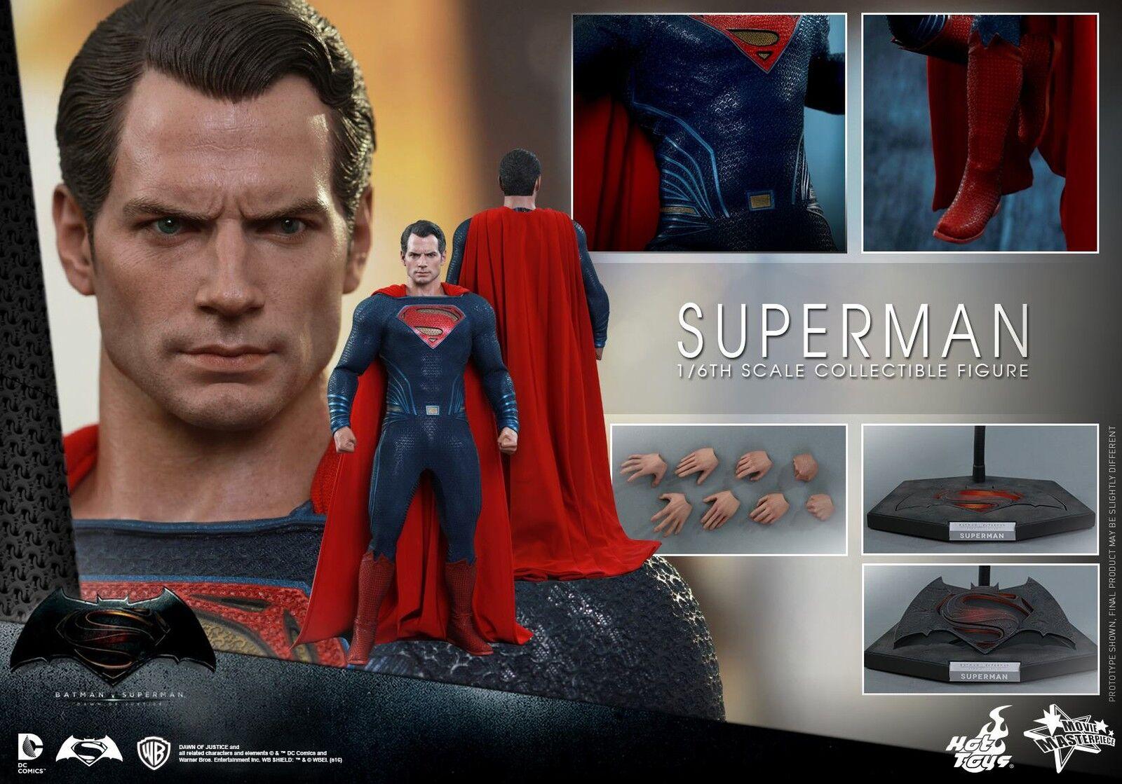 HOT TOYS 1/6 DC BATMAN V SUPERMAN DAWN OF JUSTICE MMS343 KAL-EL ACTION FIGURE