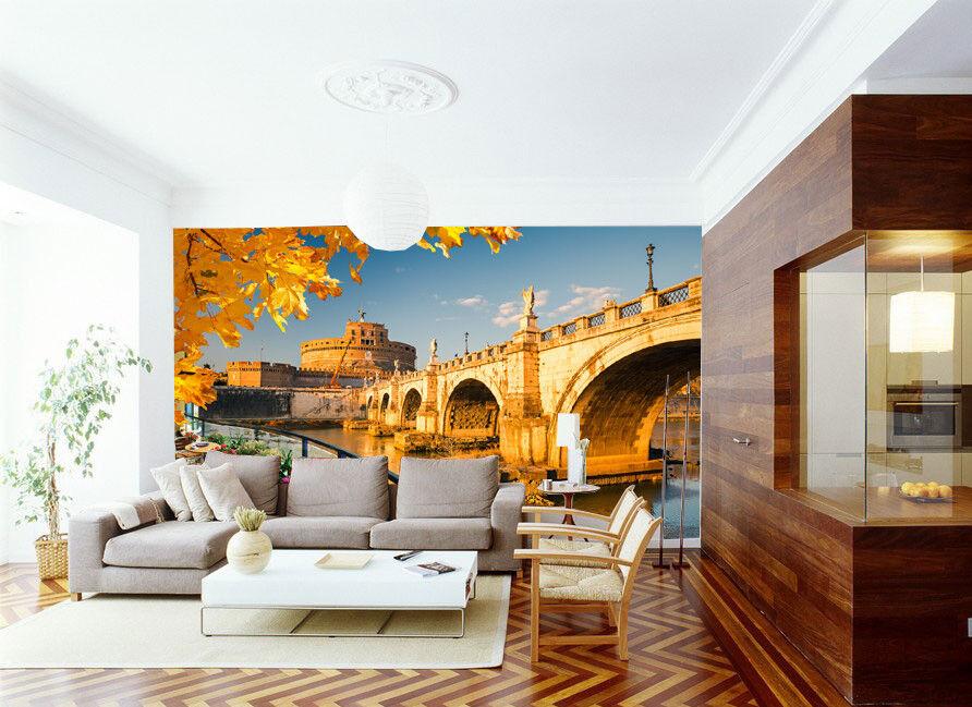 3D Schöne Landschaft Stadt 84 Tapete Wandgemälde Tapete Tapeten Bild Familie DE