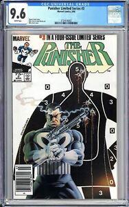 Punisher Limited Series #3 CGC 9.6 WP 1986 3724516002 Newsstand Edition Netflix