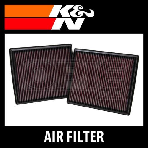 K and N Original Performance Part K/&N 33-2973 High Flow Replacement Air Filter