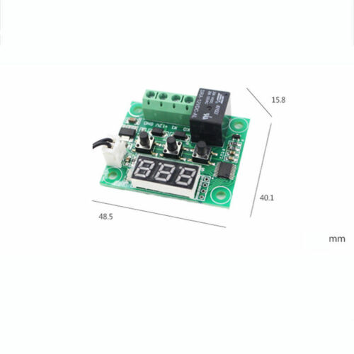 US W1209 DC12V Digital Thermostat Temperature Control Switch Sensor