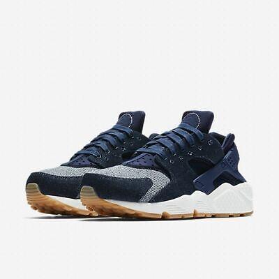 2018 shoes buy good finest selection Nike Women's Air Huarache Run SE Running Shoes Binary Blue Sail ...
