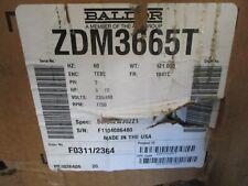 Baldor Zdm3665t 5hp 3 60hz 1750 Rpm 230460 Volts Tebc Electric Motor New