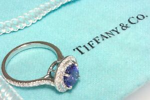 229ace6c8 Tiffany & Co. Soleste Ring in platinum with a 1.25ctw Tanzanite w ...