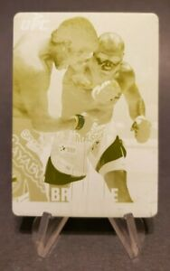 2013 Topps UFC Knockout Printing Plates Yellow #122 Marcus Brimage 1/1