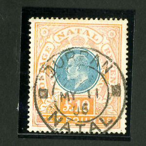 Natal-Stamps-99-XF-Used-Rare-Key-Value-Catalog-Value-6-500-00