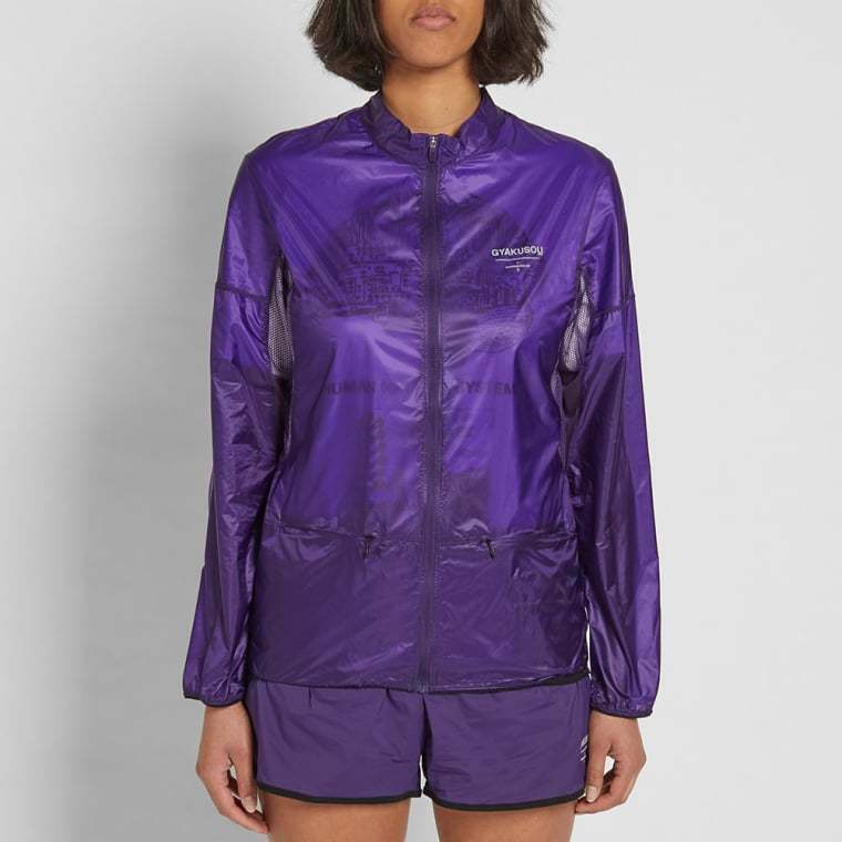 Woman's NIKE X  GYAKUSOU  Packable Lightweight Jacket    Large    910885-570