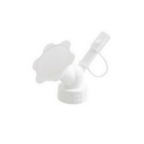 2 In 1 Plastic Sprinkler Nozzle For Waterers Bottle Watering Cans Shower Head BS