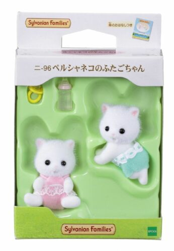 Sylvanian Families Calico Critters Dolls Twins Baby of The Persian Cat Ni-96 JP