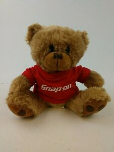 Snap-on-Tools-Teddy-Bear-Light-Brown-Plushie-Stuffed-Animal-Stuffie